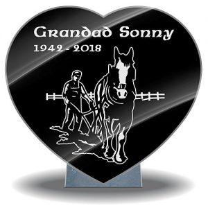 Grandad memorial plaques