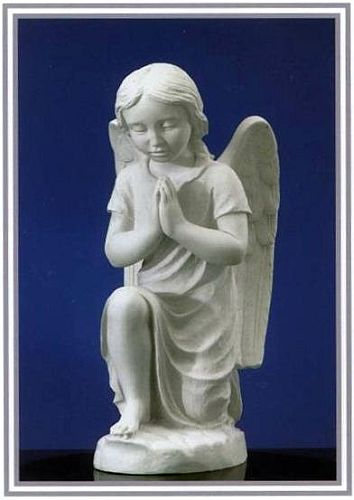ANGEL KNEELING