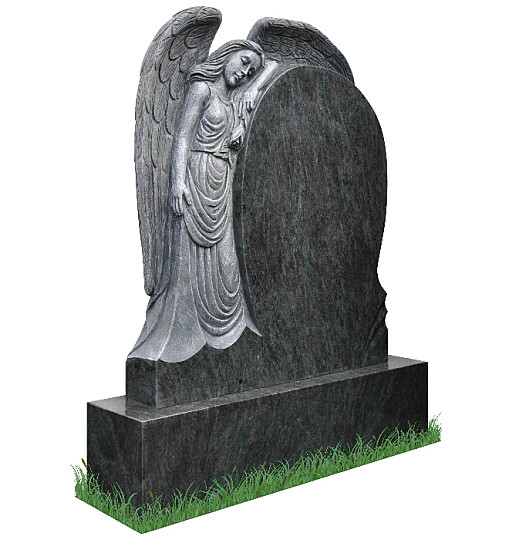 Sleeping Angel Headstone