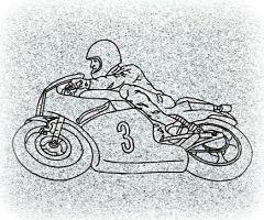 Bike Racer Memorial