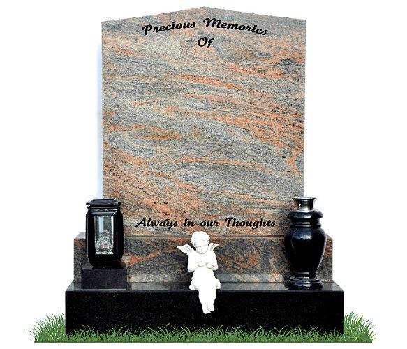 how to clean granite gravestones