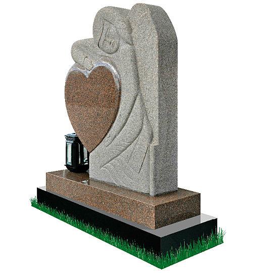 Gothic Angel Gravestone