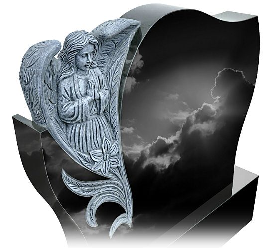 Guardian Angel Headstone