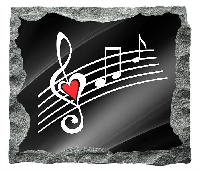 Music Headstones - Gravestones