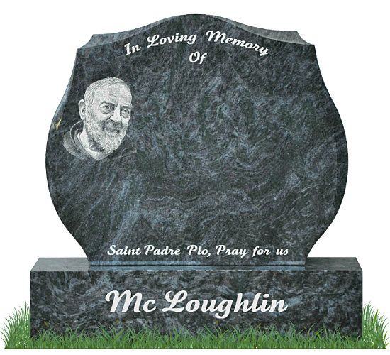 Padre Pio Headstone