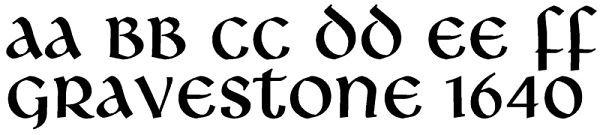 Celtic Fonts For Headstones