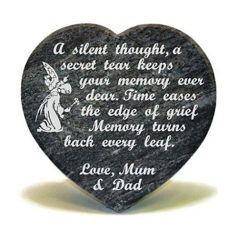 Childs Memorial Heart