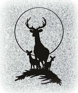 Deer and Stag Memorial Image