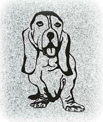 Dog Pet Memorial Image