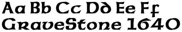 Celtic Fonts For Headstones