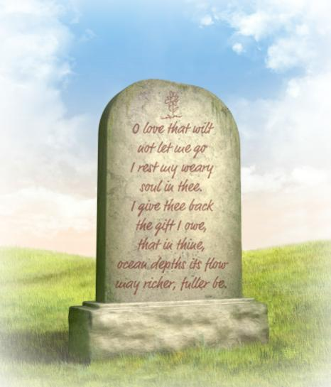 Epitaph on a Gravestone