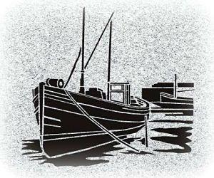 Sailing Boat Memorial for a Gravestone