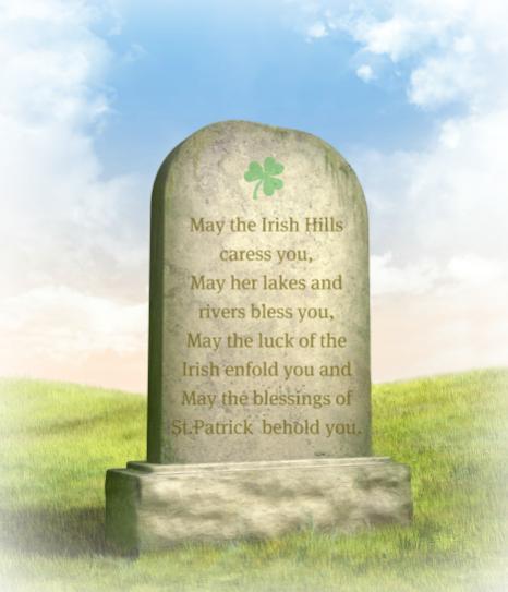 Irish Epitaphs for Headstones