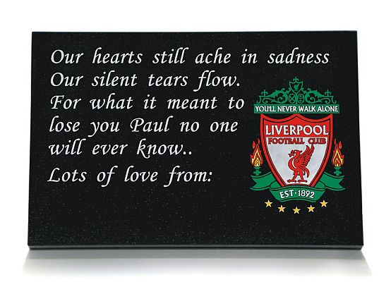 Liverpool Football Memorial