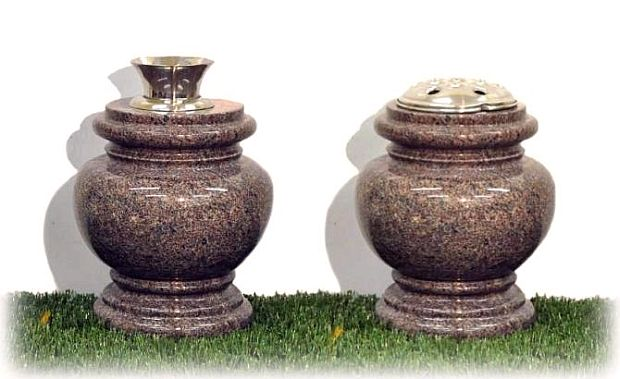 Marble Grave Vase
