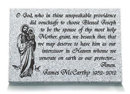 Saint Joseph Memorial Prayer