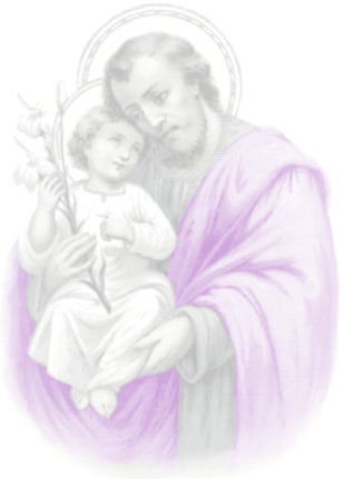 Prayers for the deceased by Saint Joseph