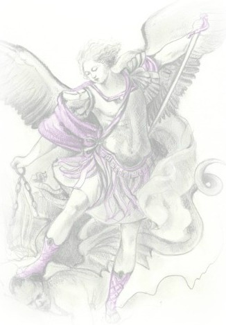 Saint Michael the archangel prayers for the dead