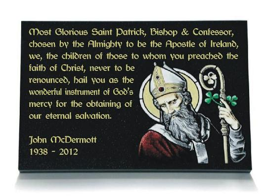 Saint Patrick Memorial