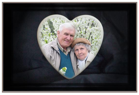 Heart Photograph for a Headtone