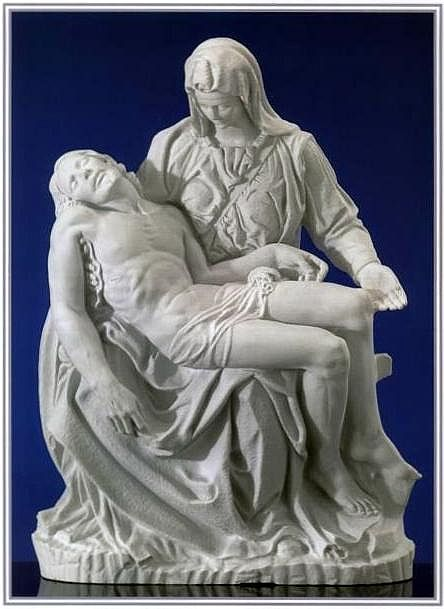 The Pieta Statue