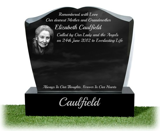 Photographs on Headstones