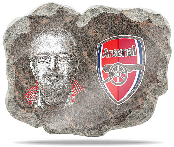 football memorial gifts Arsenal FC