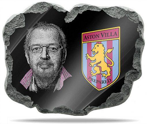 Aston Villa FC Wall memorial Plaque