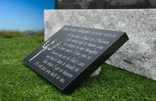 Personalized Baby Grave plaques Ireland and the UK