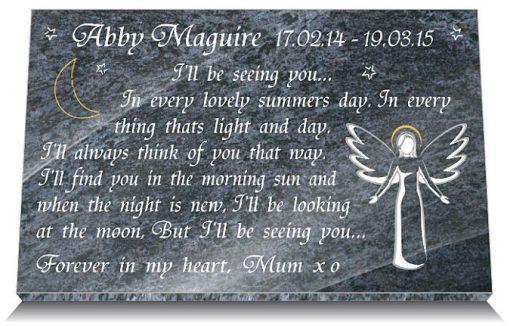 Grave memorials for babies