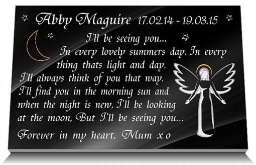 Angel Babies Memorials for graves