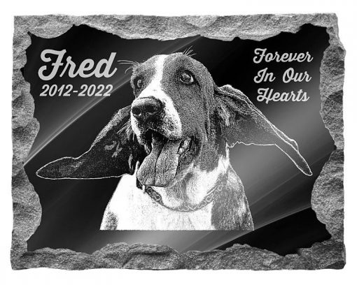 Basset Hound Dog Memorial plaques
