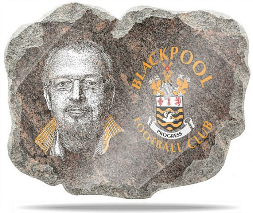 Blackpool FC Wall memorial Plaque