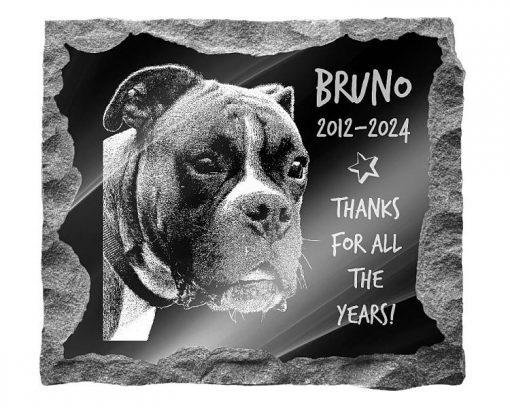 Boxer Dog memorials