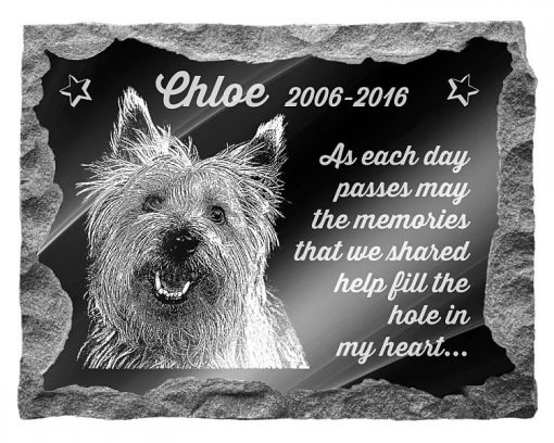 Cairn Terrier Dog Memorials