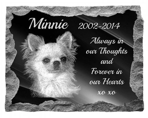 Chihuahua Dog Memorial plaques