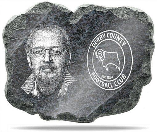 Derby County FC Wall memorial Plaque