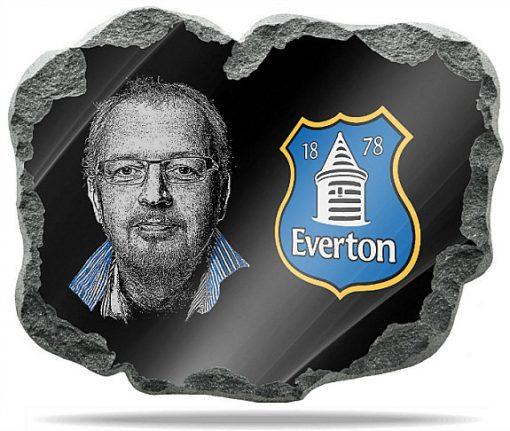 Everton FC Wall memorial Plaque