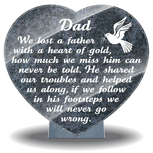 Father S Day Memorial Gifts Uk Personalized Grave Plaques