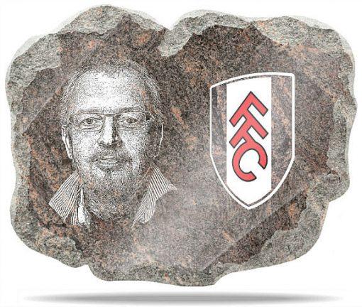 Fulham FC Wall memorial Plaque