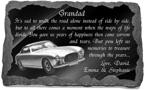 Grandad memorial plaques online