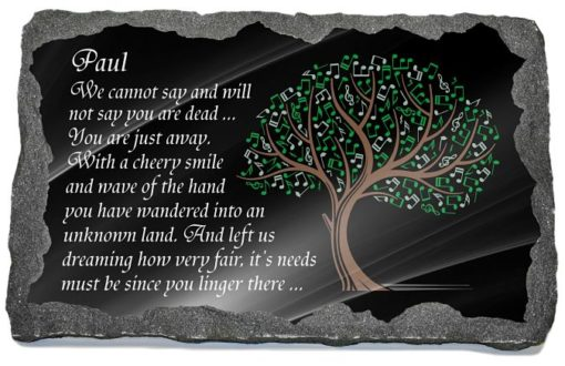 Friend Grave Plaque with personalized friend memorial poem
