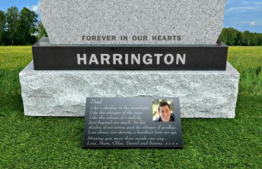 Dad poem for grave gone too soon with photo