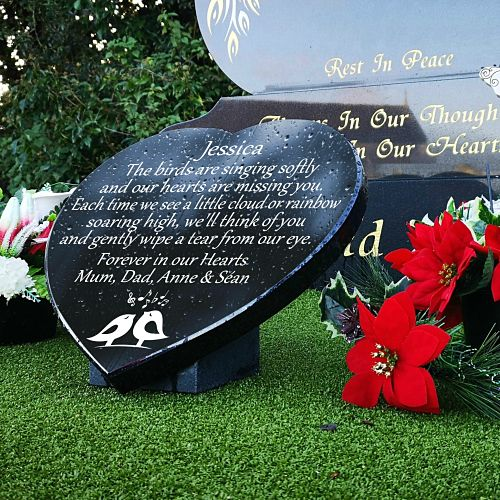 Sympathy Gifts for Headstones and personalized headstone memorial verses