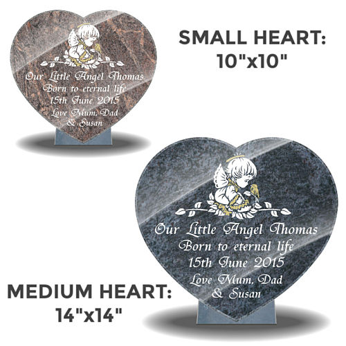 Baby heart plaques for graves with eulogy examples for stillborn baby