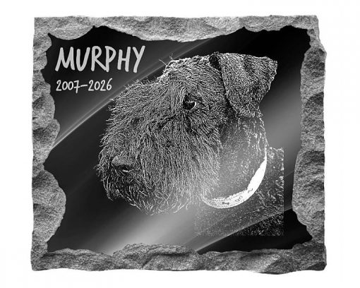 Kerry Blue Terrier Dog Memorial plaques