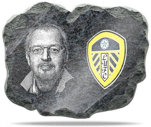 Leeds United FC Wall memorial Plaque