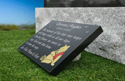 Baby Memorial Plaque with Baby memorial poem