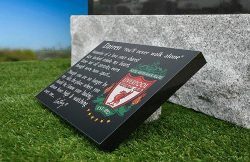 The best Liverpool Memorial Plaques with Liverpool football Crest for 2020