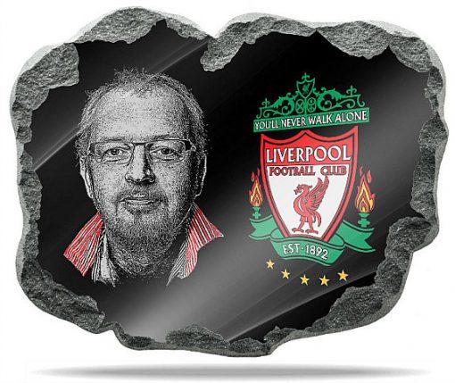 Liverpool FC Wall memorial Plaque